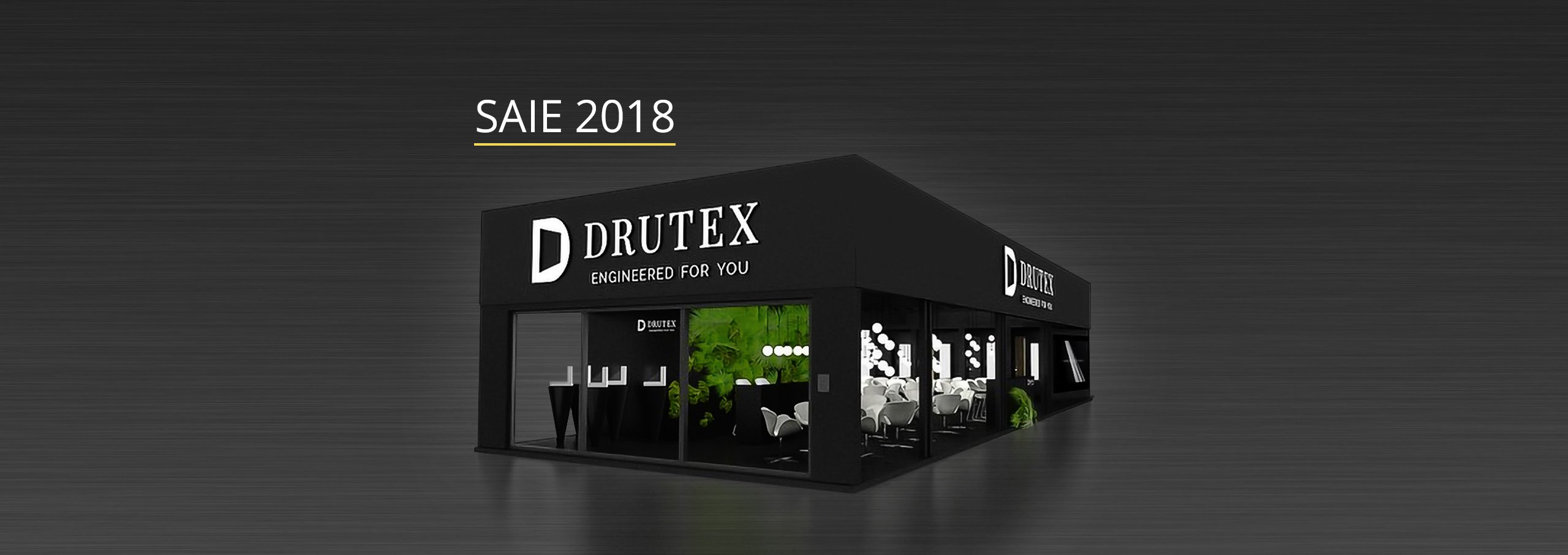 Drutex at the SAIE exhibition in Italy