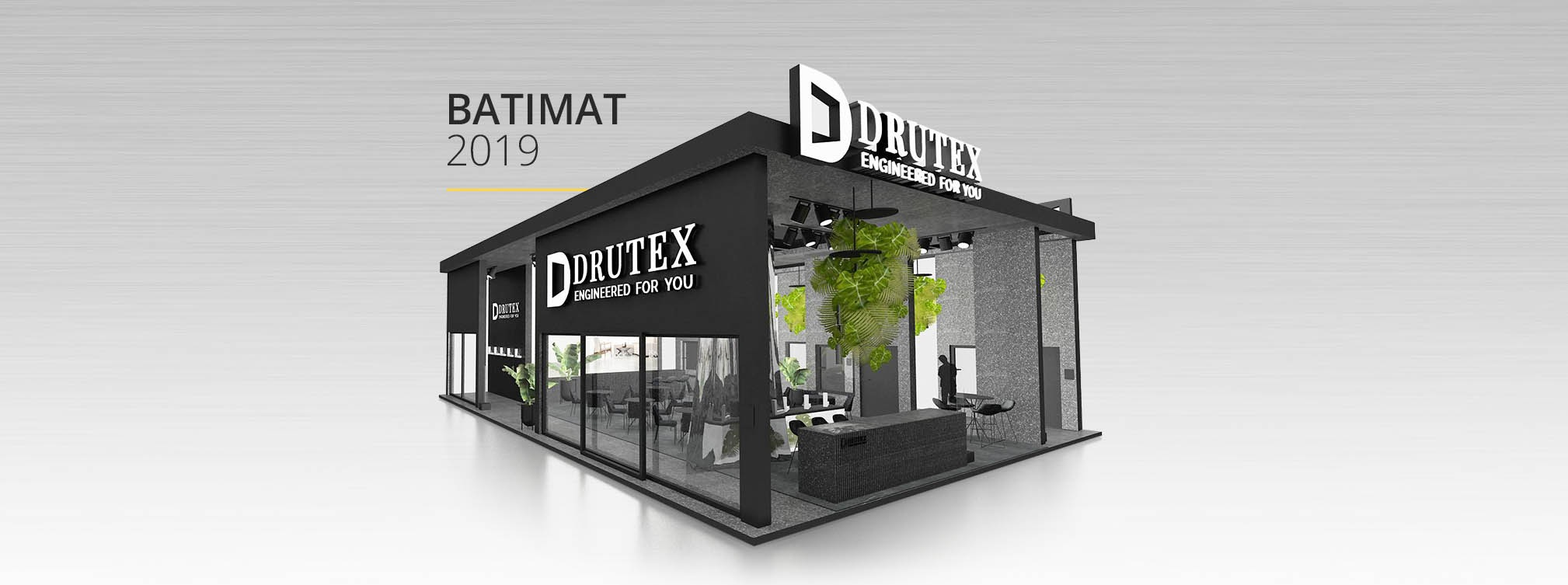 DRUTEX presents its offer at the Batimat  2019 exhibition