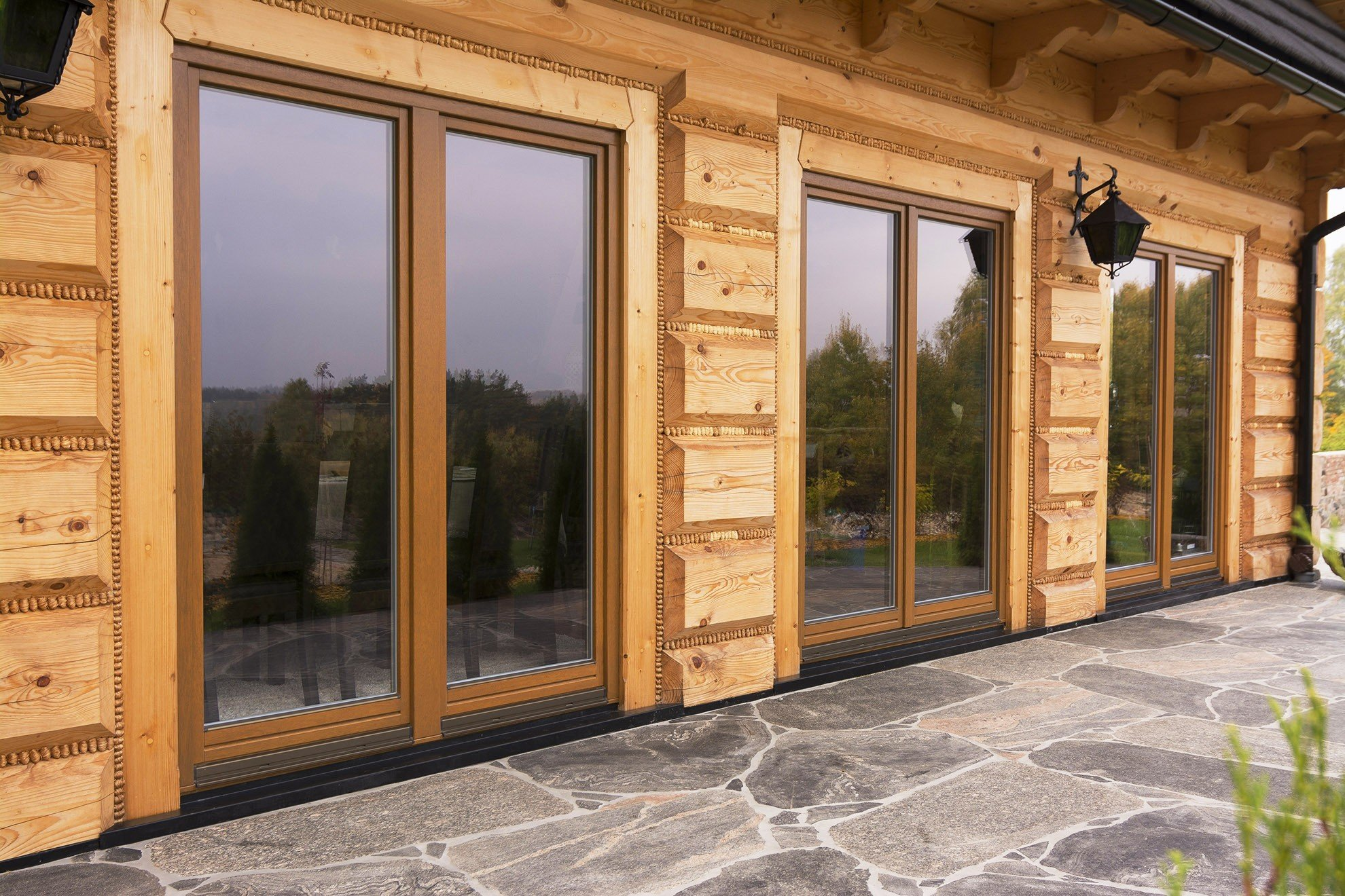 Windows » Wooden windows » SOFTLINE - 68, 78, 88