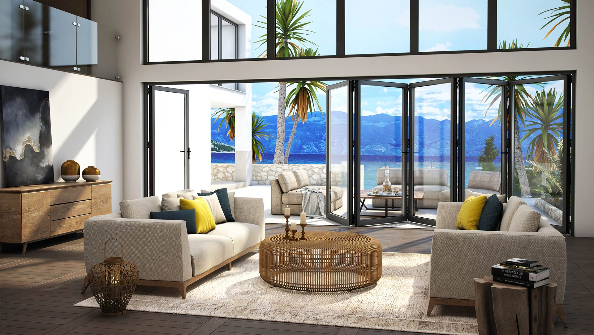 Terrace systems » Folding doors » MB-86 Fold Line